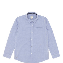 Boys Oxford Shirt Blue