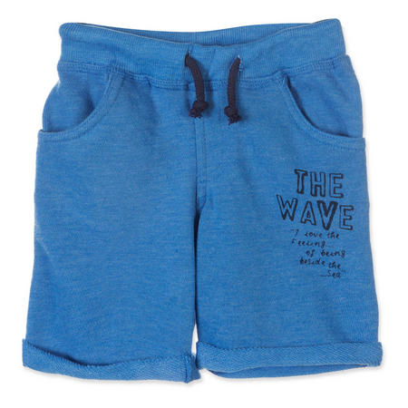 Boys The Wave Jersey Shorts Blue