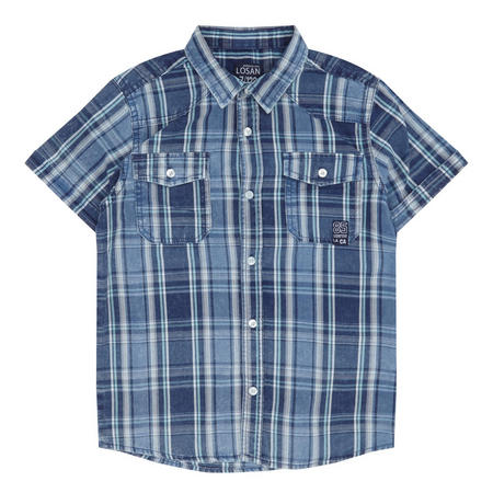 Boys Check Shirt Multicolour