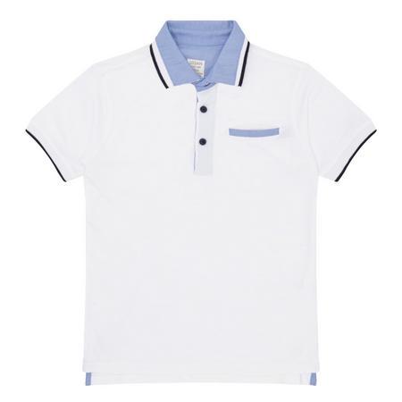 Boys Polo Shirt White
