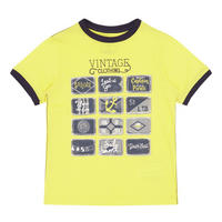 Boys Vintage Sailor T-Shirt Yellow