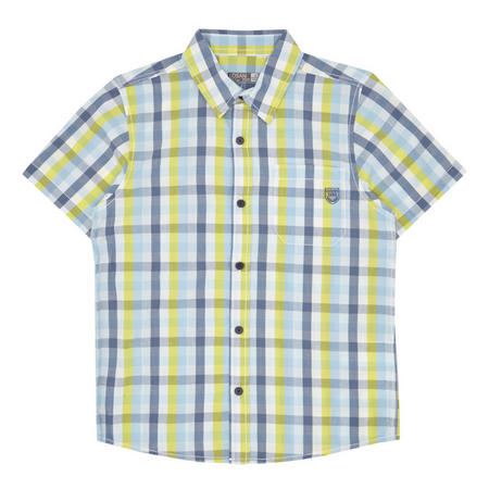 Boys Short Sleeve Check Shirt Multicolour