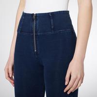 High Rise Skinny Jeans Dark Wash Blue