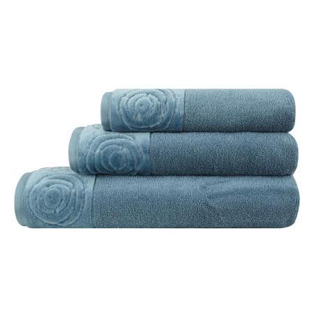 Vossen Rose Towel Blue