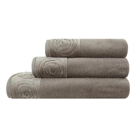 Vossen Rose Towel Charcoal