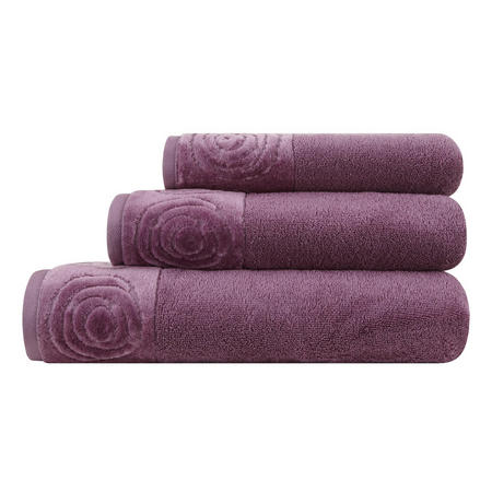 Vossen Rose Towel Purple
