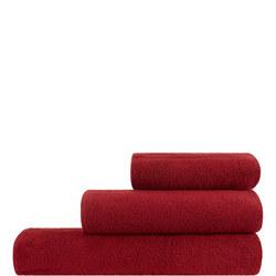 Soft Dreams Towel Dark Red