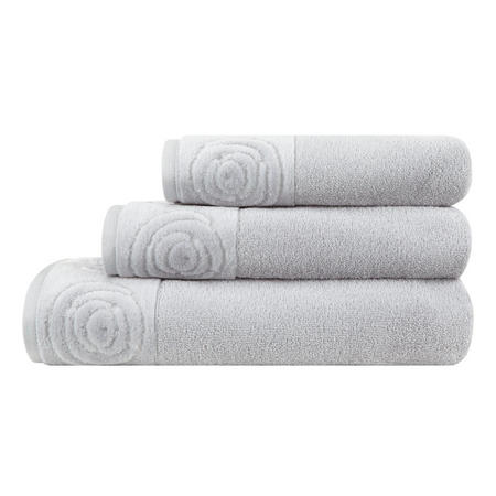 Vossen Rose Towel Silver