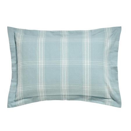 Verbier Oxford Pillowcase Aqua Green