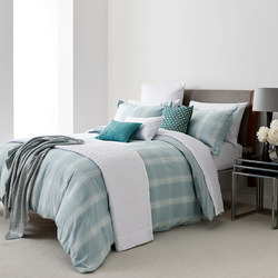 Verbier Coordinated Bedding Set Aqua Green