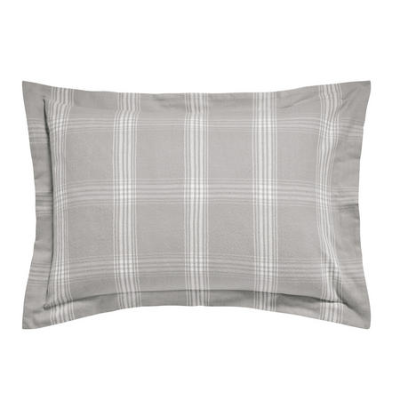 Verbier Oxford Pillowcase Platinum Grey