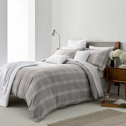 Verbier Duvet Cover Platinum Grey