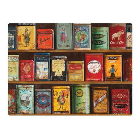 Pimpernel Vintage Tins Placemats Set of 6