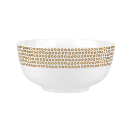 Catherine Lansfield Glamour Sequin Cereal Bowl Gold-Tone