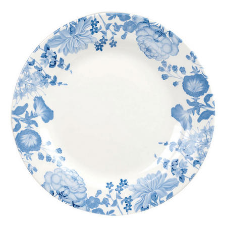 Butterfly Blooms Dinner Plate White