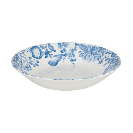 Butterfly Blooms Coupe Bowl White