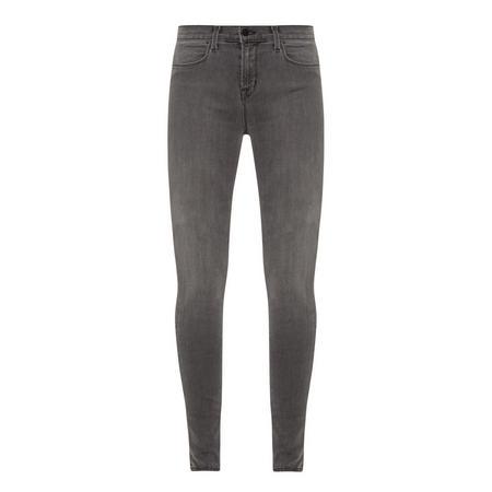 Maria High Rise Jeans Grey