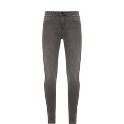 Maria High Rise Jeans Grey