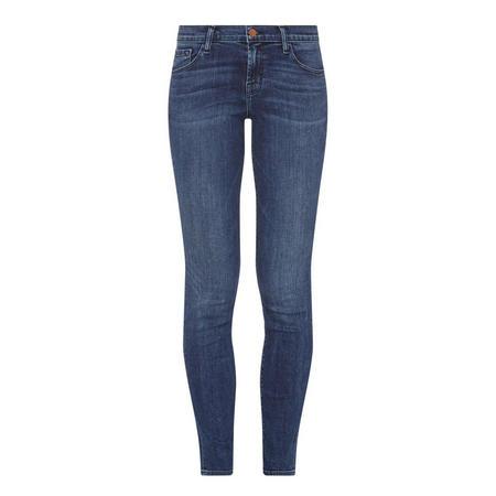 Maude Cigarette Skinny Jeans Blue
