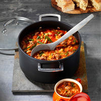 Toughened Non-Stick Deep Casserole 18cm