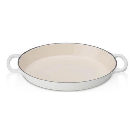 Signature Cast Iron Oval Gratin Dish 28cm