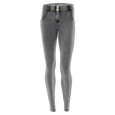 Freddy Jeans Mid Rise Skinny Jeans Grey 95399e1dd77