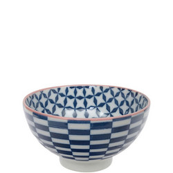 Geo Electric Bowl Blue