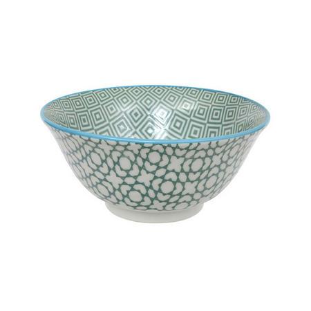 Geo Electric Bowl Green