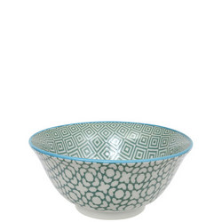 Geo Electric Bowl Green