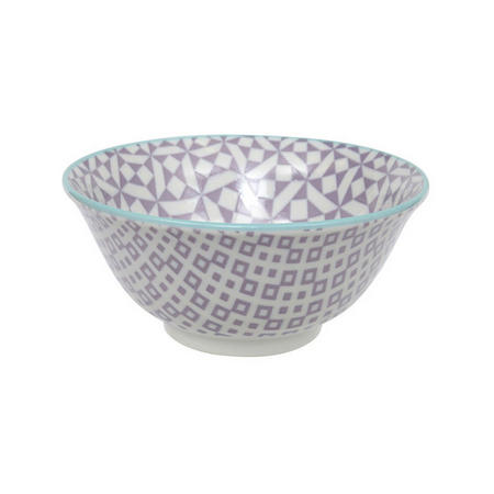 Geo Electric Bowl Purple