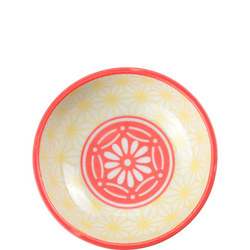 Star Wave Dish Yellow