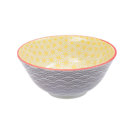 Star/Wave Bowl Yellow
