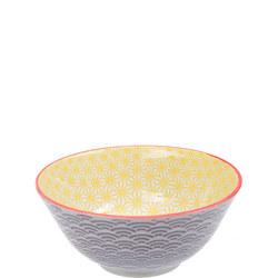 Star/Wave Bowl Yellow