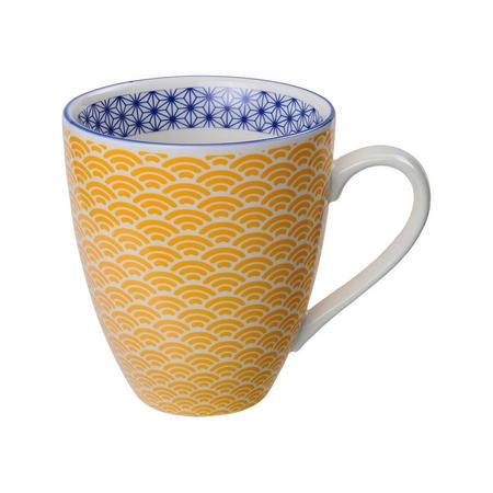 Star/Wave Mugs Yellow