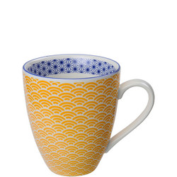 Star/Wave Mugs Yellow