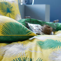 Catori Duvet Set Lime Green