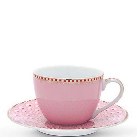 Bloom  Cup & Saucer  Pink