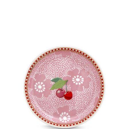 Flower  Teabag Holder  Pink