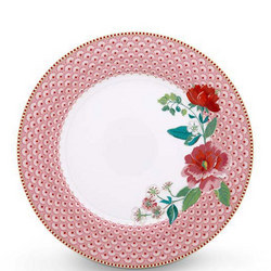 Rose Plate  Pink