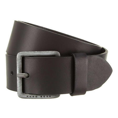 Jeeko Leather Belt Black