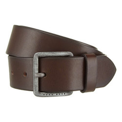 Jeeko Leather Belt Black