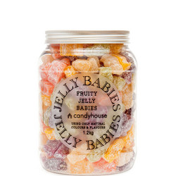 Jelly Babies in Giant Jar