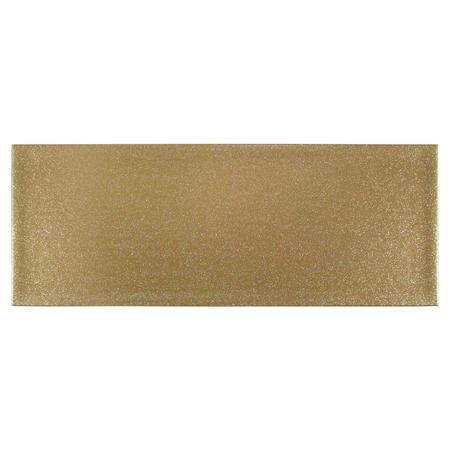 Gold Glitter Table Runner Gold-Tone