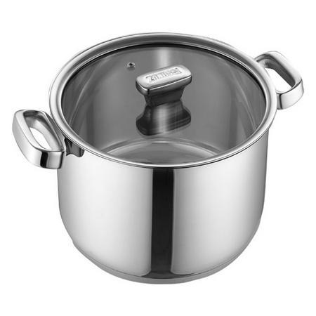 Stock Pot 24cm Silver-Tone