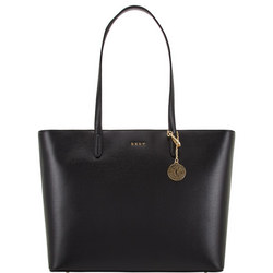 Sutton Leather Tote Large Black