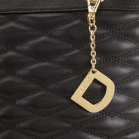 Quilted Tote Medium Black