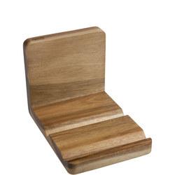 Acacia Wood Recipe Book & Tablet Holder