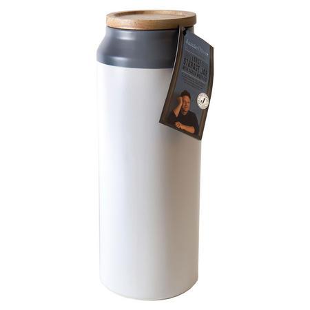 Ceramic Storage Jar Large Grey