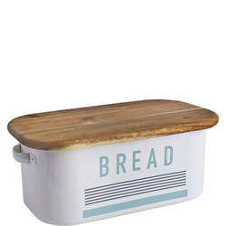 Vintage Bread Bin White