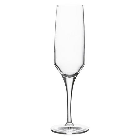 Diamond Crystal Flute Glasses Set of 2 Clear